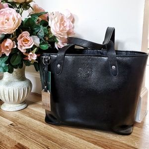 🌸JUST IN! Ralph Lauren Newton Classic Tote Black